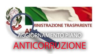 Comunicato alla cittadinanza: Aggiornamento del Piano Anticorruzione