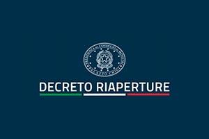 """""""Decreto Legge Riaperture"""": le novità a partire da lunedì 26 aprile"""
