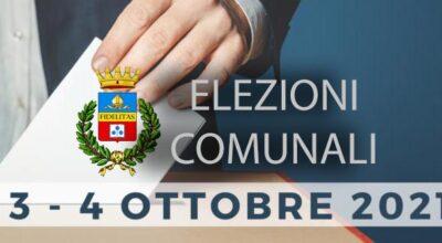 Risultati Elezioni Comunali 2021:  Manifesto Risultati elettorali